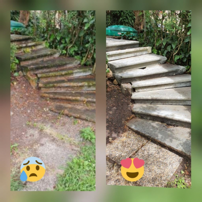 nettoyage-karcher-escalier